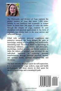 The Philosophy and Science of Yoga back