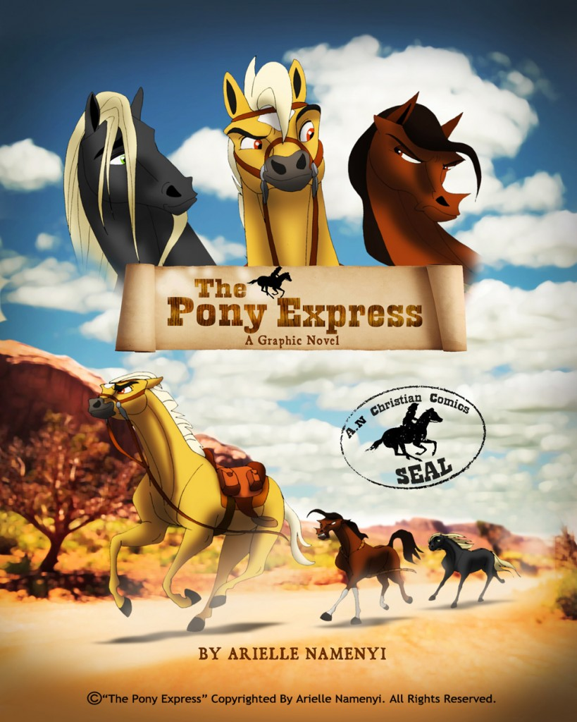 The Pony Express book