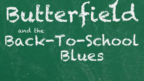 BRITTANY BUTTERFIELD AND THE BACK-TO-SCHOOL BLUES (Teen Angels/Book Two)