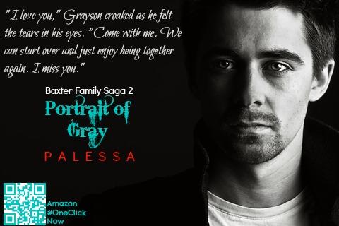 Teaser for #PortraitofGray, Baxter Family Saga 2
