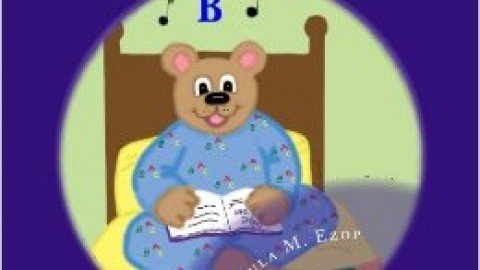 Benjamin the Little Brown Bear Who Loved to Spell