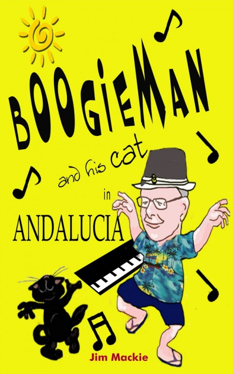 Boogieman and his cat in Andalucia