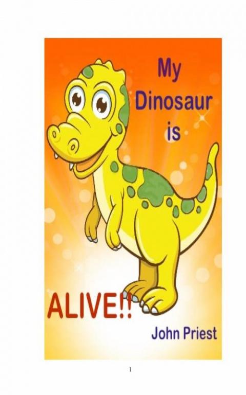 My Dinosaur is ALIVE!!