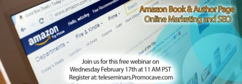 Free Webinar: Amazon Book & Author Page Online Marketing and SEO