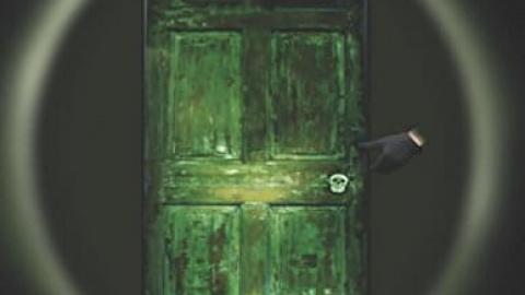 Through the Green Doorway