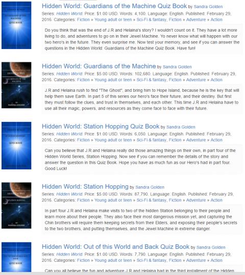 Hidden World Series