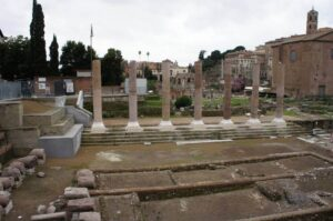 Digging up relics in Rome