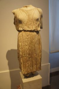 is this what the Vestal Virgins would have worn?
