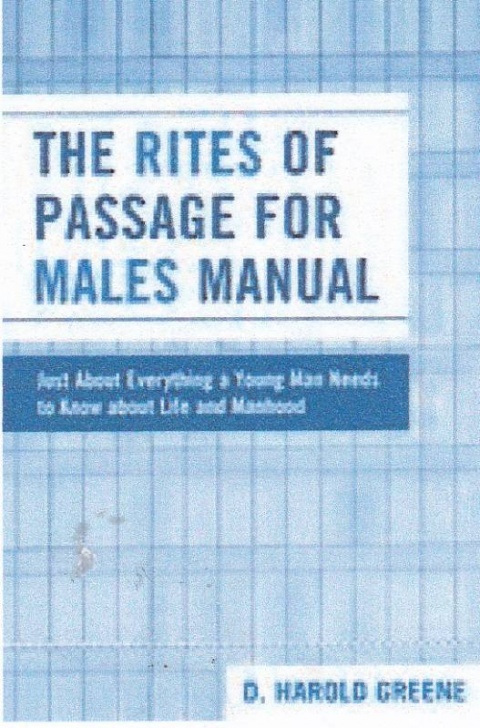 The Rites of Passage for Males
