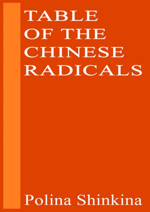 Table of the Chinese Radicals