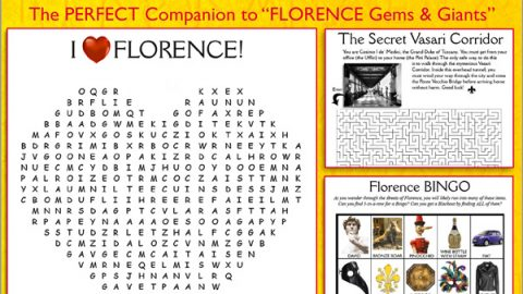 FLORENCE: A Traveler's FunBook