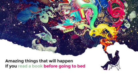 Amazing things that will happen If you read a book before going to bed